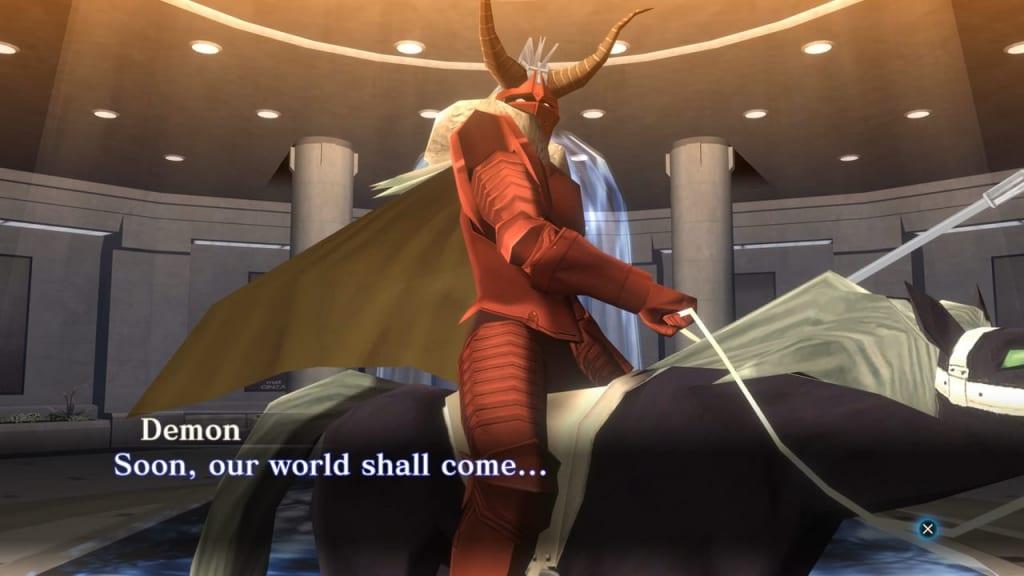 Shin Megami Tensei III: Nocturne HD Remaster - Demon NPC