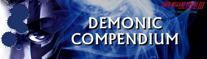Shin Megami Tensei III: Nocturne HD Remaster - Demonic Compendium