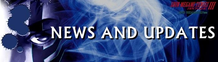 Shin Megami Tensei III: Nocturne HD Remaster - News and Updates