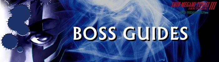 Shin Megami Tensei III: Nocturne HD Remaster - Boss Guides