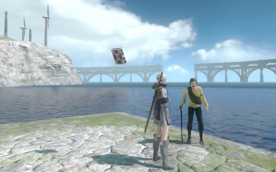 Nier Replicant Remaster - Fisherman's Gambit Side Quests