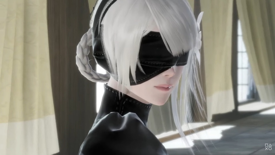 Nier Replicant Remaster - Kaine 2B Outfit