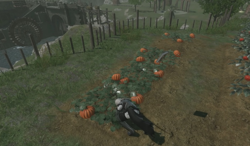 NieR Replicant Remaster - Cultivation Gardening Items