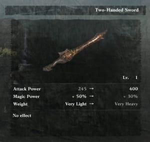 NieR Replicant Remaster - Fool's Lament (Two-handed Sword)