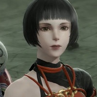 NieR Replicant Remaster - Kaine Kabuki Outfit