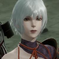 NieR Replicant Remaster - Kaine Samurai Outfit
