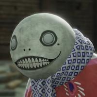 NieR Replicant Remaster - Emil Kabuki Outfit