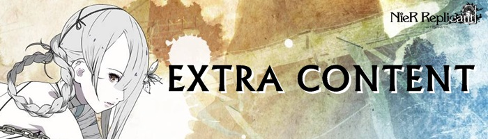 NieR Replicant Remaster - Extra Content Banner