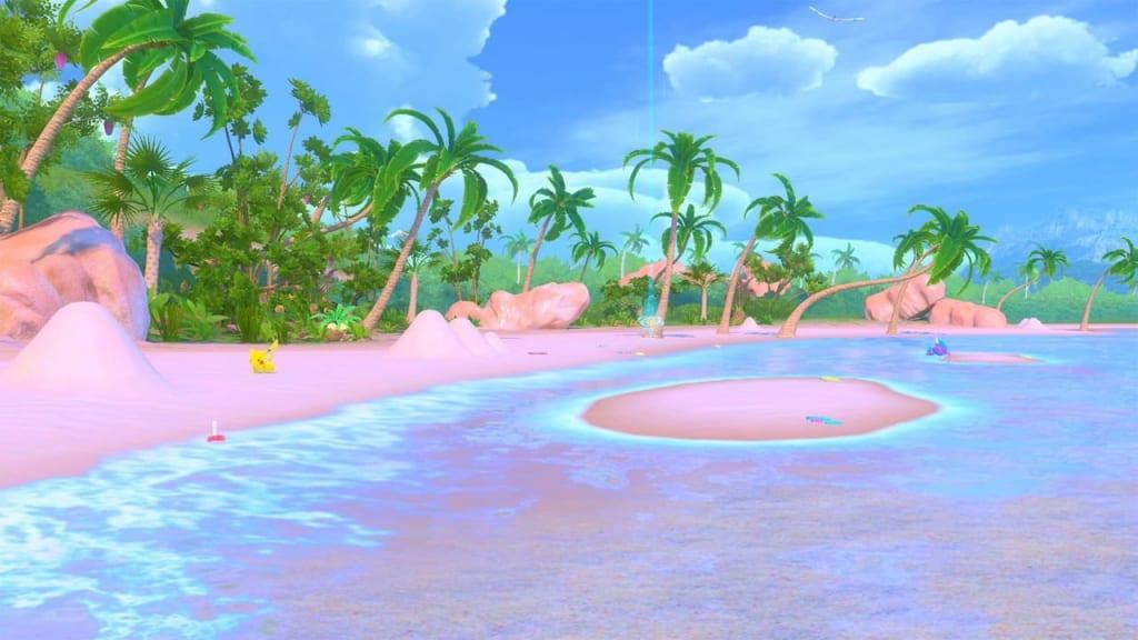New Pokemon Snap - Lental Region Blushing Beach Area Course Walkthrough