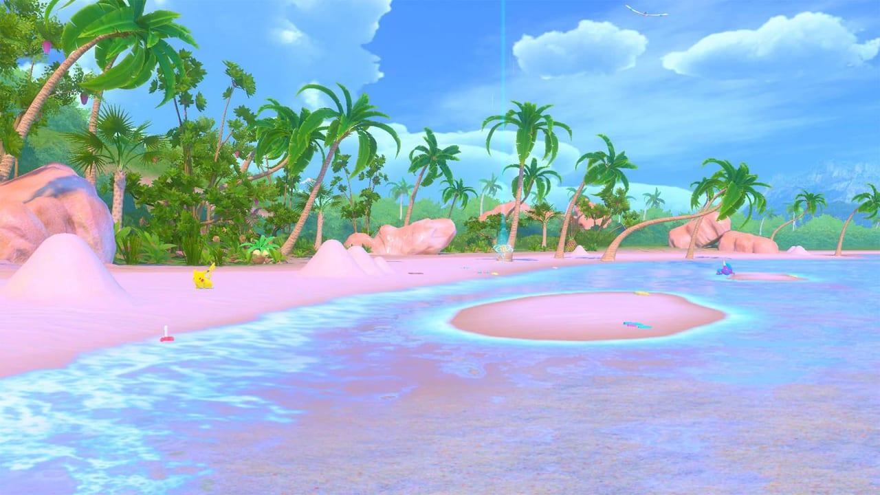 New Pokemon Snap - Lental Region Blushing Beach