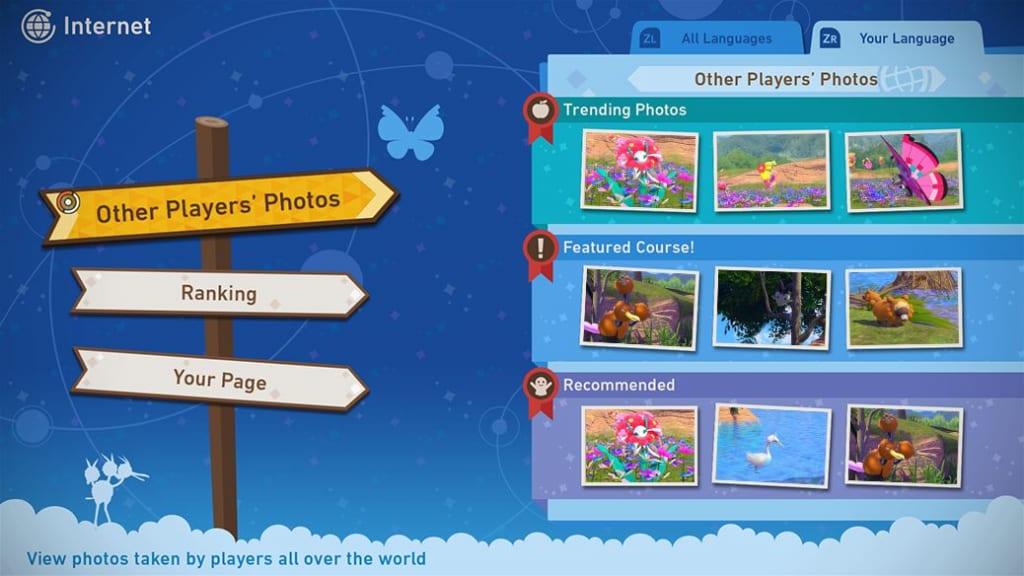 New Pokemon Snap - Photodex Online Function