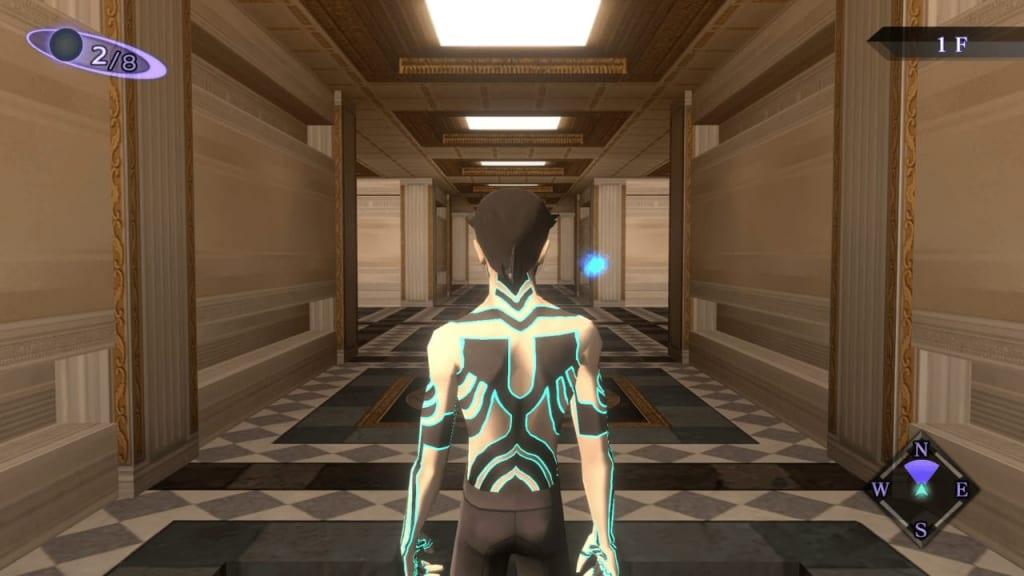 Shin Megami Tensei III: Nocturne HD Remaster - Labyrinth of Amala Deep Zone First Kalpa Central Area Entrance