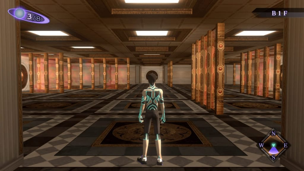 Shin Megami Tensei III: Nocturne HD Remaster - Labyrinth of Amala Deep Zone First Kalpa B1F Southeast Area Entrance