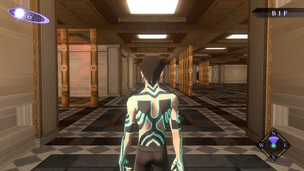 Shin Megami Tensei III: Nocturne HD Remaster - Labyrinth of Amala Deep Zone First Kalpa North Area Entrance