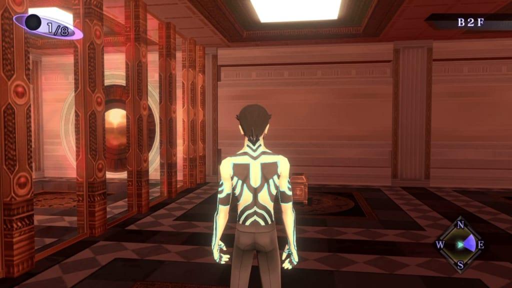 Shin Megami Tensei III: Nocturne HD Remaster - Labyrinth of Amala Deep Zone First Kalpa B2F Southeast Dropdown 2