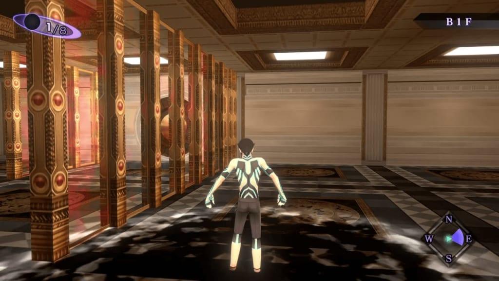 Shin Megami Tensei III: Nocturne HD Remaster - Labyrinth of Amala Deep Zone First Kalpa B1F North Entrance Pitfall