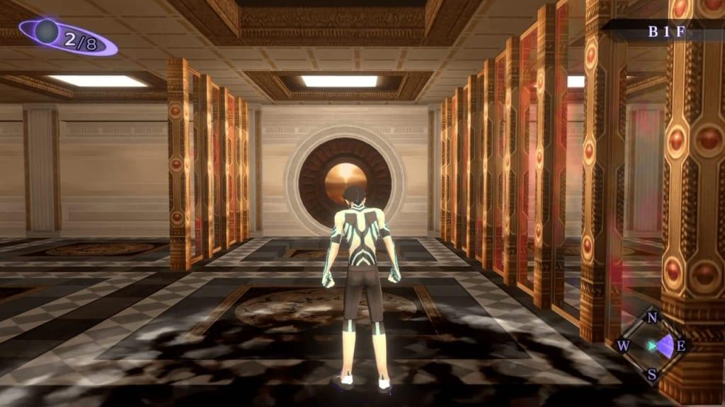 Shin Megami Tensei III: Nocturne HD Remaster - Labyrinth of Amala Deep Zone First Kalpa B1F North Entrance Pitfall 3