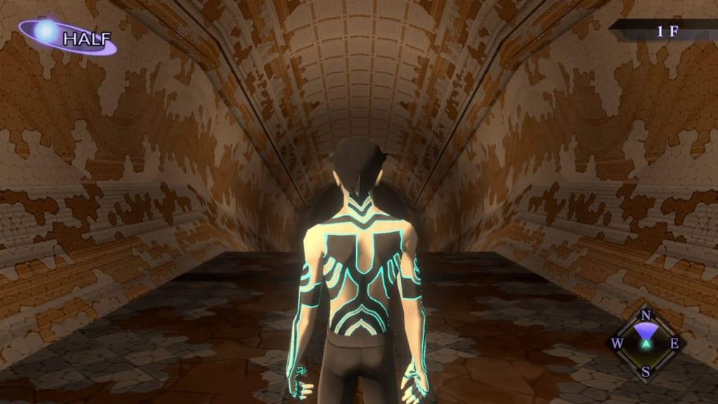 Shin Megami Tensei III: Nocturne HD Remaster - Labyrinth of Amala Deep Zone Second Kalpa 1F Tunnel Entrance