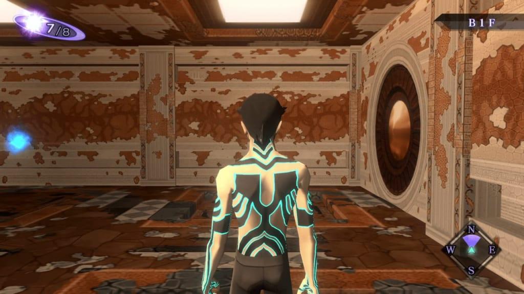 Shin Megami Tensei III: Nocturne HD Remaster - Labyrinth of Amala Deep Zone Second Kalpa B1F Entrance