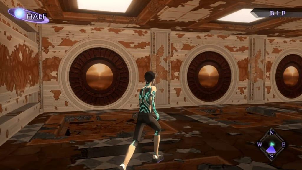 Shin Megami Tensei III: Nocturne HD Remaster - Labyrinth of Amala Deep Zone Second Kalpa West Wall Three Doors