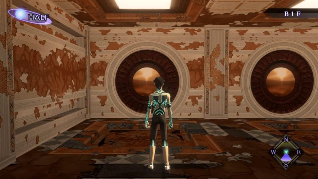 Shin Megami Tensei III: Nocturne HD Remaster - Labyrinth of Amala Deep Zone Second Kalpa West Wall West Door