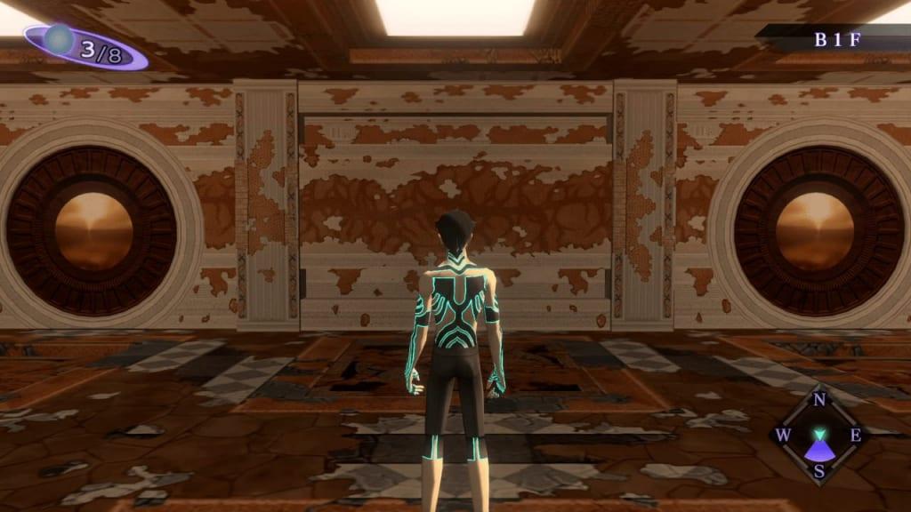 Shin Megami Tensei III: Nocturne HD Remaster - Labyrinth of Amala Deep Zone Second Kalpa South Wall Two Far Doors