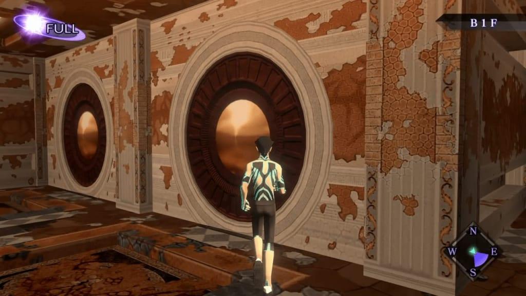 Shin Megami Tensei III: Nocturne HD Remaster - Labyrinth of Amala Deep Zone Second Kalpa South Wall Two Close Doors