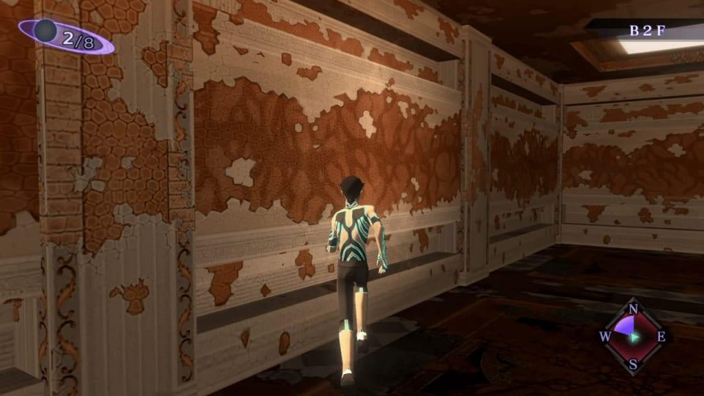 Shin Megami Tensei III: Nocturne HD Remaster - Labyrinth of Amala Deep Zone Second Kalpa B2F Magic Wall 1