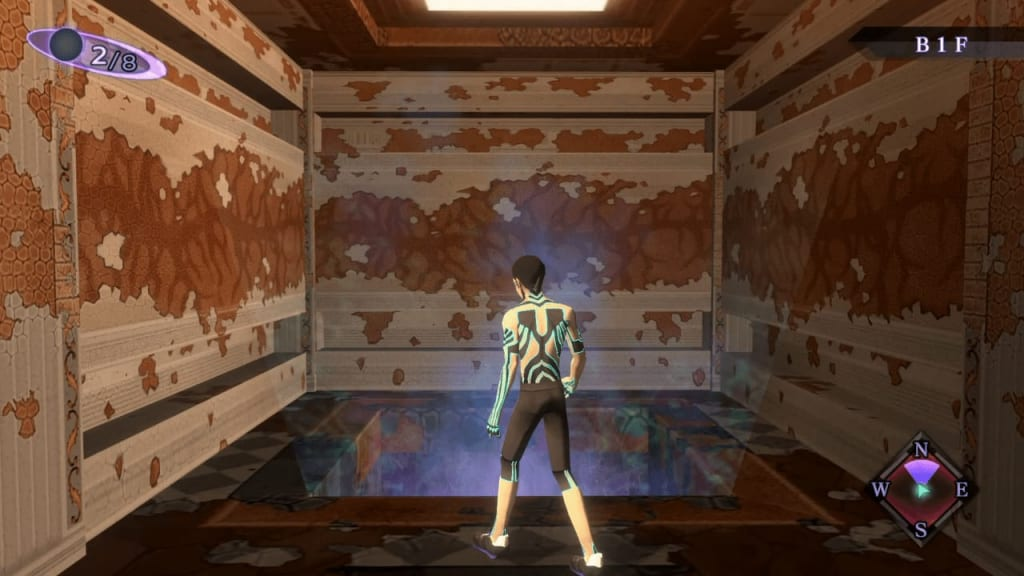 Shin Megami Tensei III: Nocturne HD Remaster - Labyrinth of Amala Deep Zone Second Kalpa B1F Southwest Hole