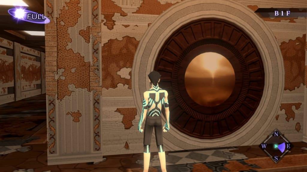 Shin Megami Tensei III: Nocturne HD Remaster - Labyrinth of Amala Deep Zone Second Kalpa B1F West Door