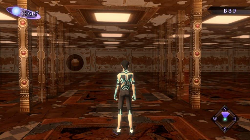 Shin Megami Tensei III: Nocturne HD Remaster - Labyrinth of Amala Deep Zone Second Kalpa B3F Middle Area First Maze Panel 4