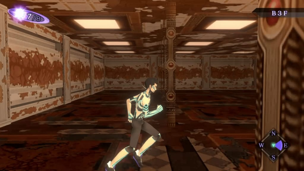 Shin Megami Tensei III: Nocturne HD Remaster - Labyrinth of Amala Deep Zone Second Kalpa B3F Middle Area First Maze Panel 11