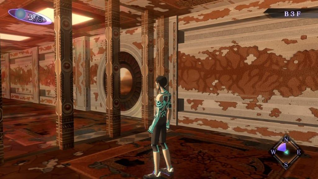 Shin Megami Tensei III: Nocturne HD Remaster - Labyrinth of Amala Deep Zone Second Kalpa B3F Middle Area Second Maze Panel 1