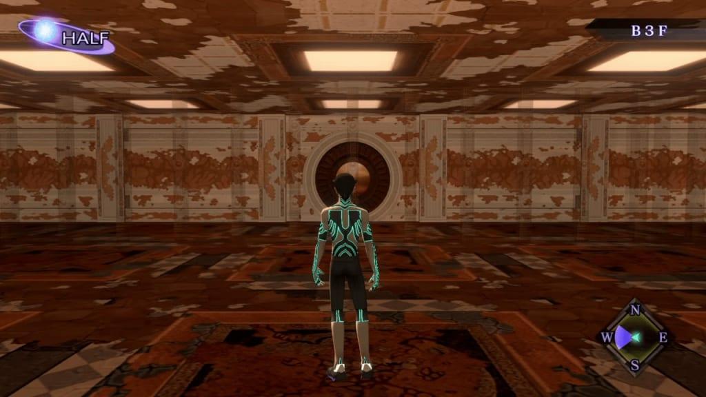 Shin Megami Tensei III: Nocturne HD Remaster - Labyrinth of Amala Deep Zone Second Kalpa B3F Middle Area Third Maze Panel 1