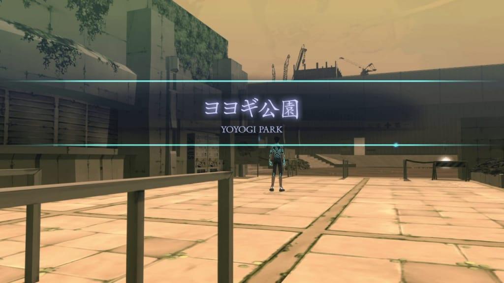 Shin Megami Tensei III: Nocturne HD Remaster - Yoyogi Park