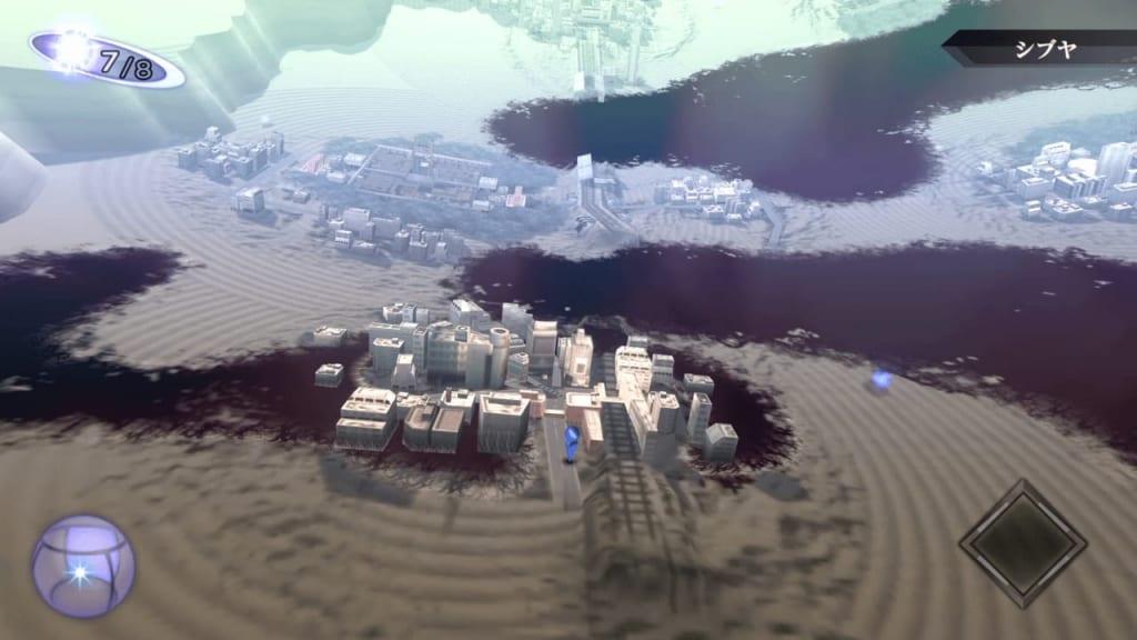 Shin Megami Tensei III: Nocturne HD Remaster - Shibuya Entrance Map Location