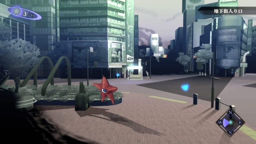 Shin Megami Tensei III: Nocturne HD Remaster - Underground Mall Entrance