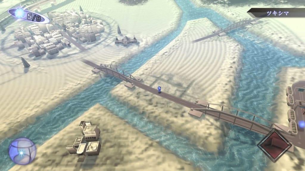 Shin Megami Tensei III: Nocturne HD Remaster - Harumi Warehouse Two Bridges Map Location