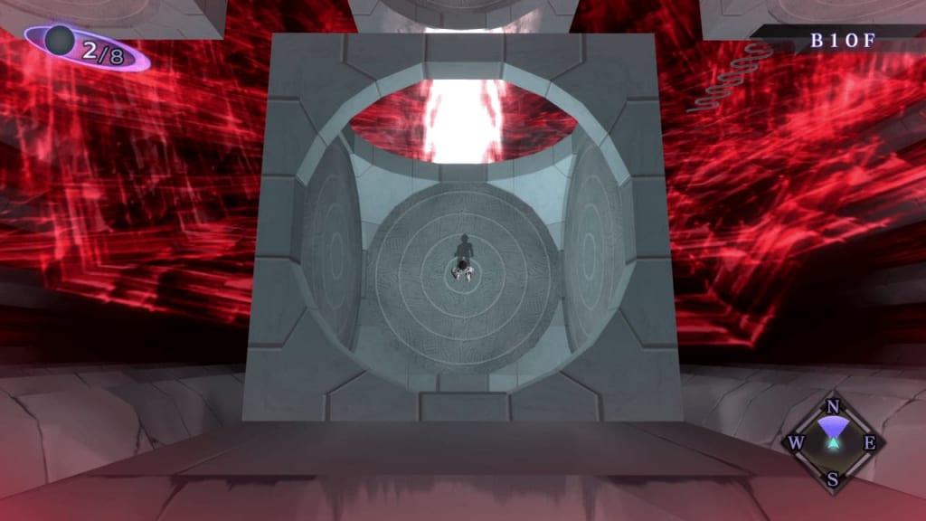 Shin Megami Tensei III: Nocturne HD Remaster - Assembly of Nihilo B10F Middle South Square Room