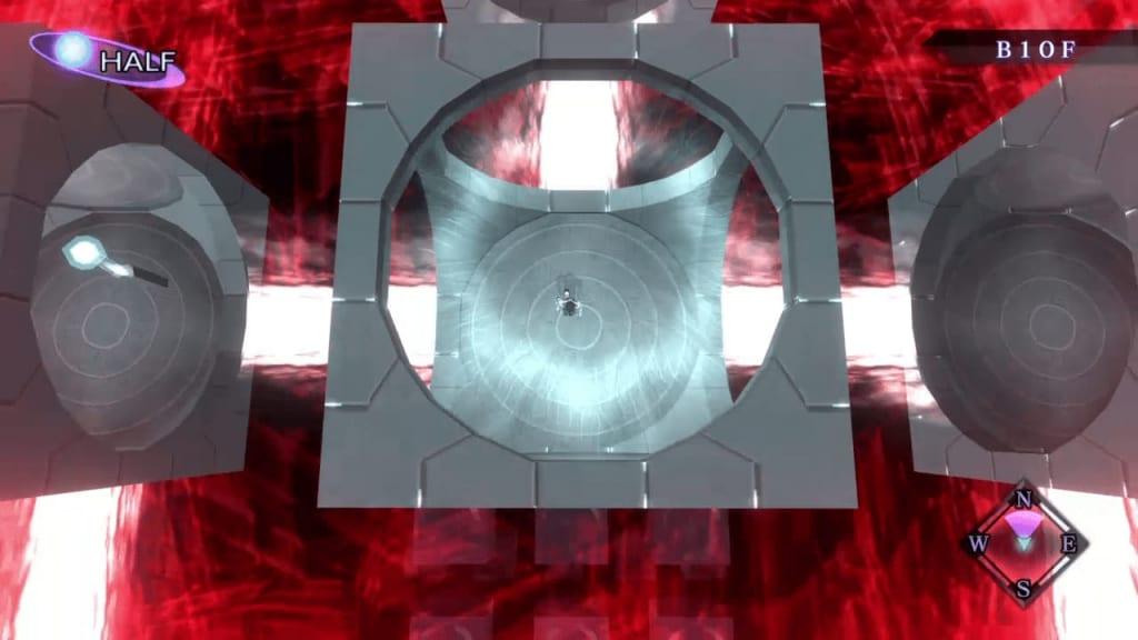 Shin Megami Tensei III: Nocturne HD Remaster - Assembly of Nihilo B10F Middle North Square Room