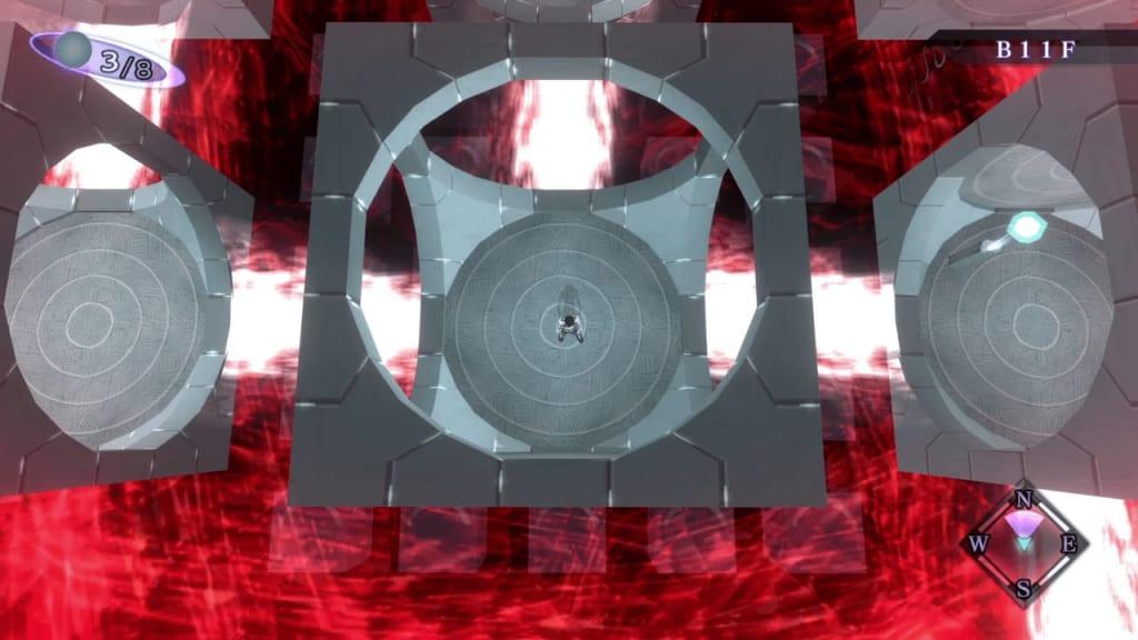 Shin Megami Tensei III: Nocturne HD Remaster - Assembly of Nihilo B12F Middle South Square Room