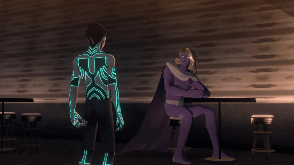 Shin Megami Tensei III: Nocturne HD Remaster - Ginza Nyx's Lounge Loki