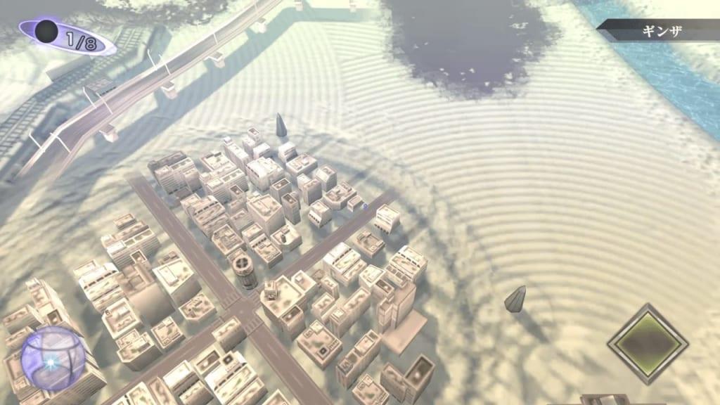 Shin Megami Tensei III: Nocturne HD Remaster - Ginza Nyx's Lounge Back Entrance Map Location