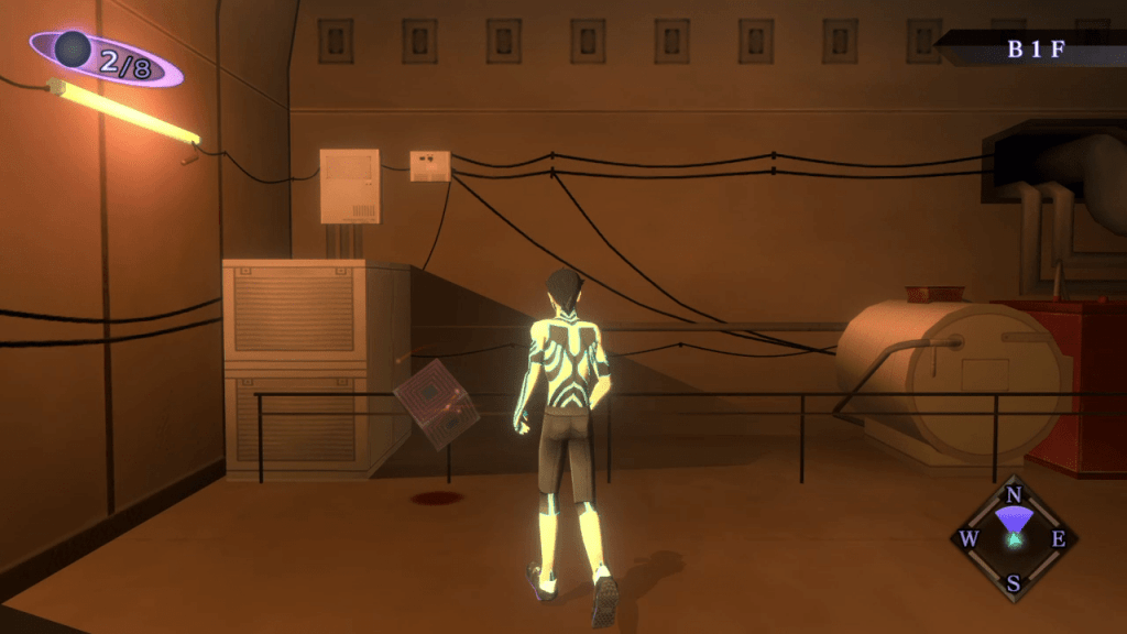 Shin Megami Tensei III: Nocturne HD Remaster - Ginza Great Underpass Floating Cube 7