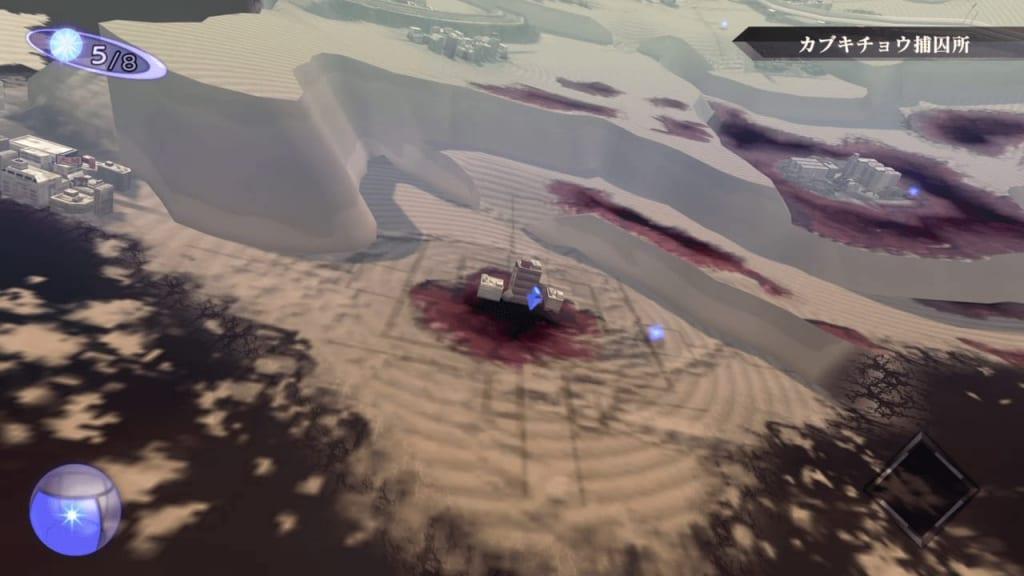 Shin Megami Tensei III: Nocturne HD Remaster - Kabukicho Prison Entrance Location