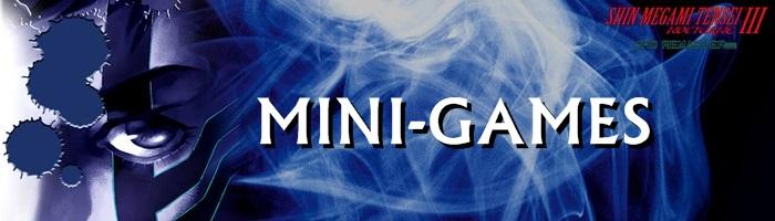 Shin Megami Tensei III: Nocturne HD Remaster - Mini-Games Banner