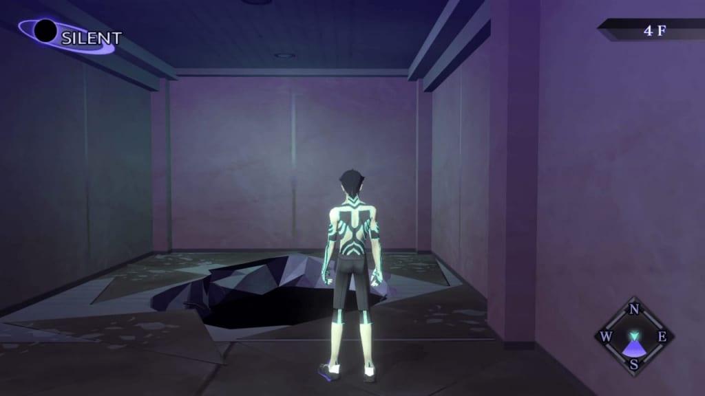 Shin Megami Tensei III: Nocturne HD Remaster - Kabukicho Prison 4F Hole Location