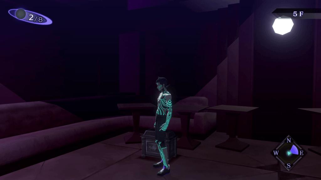 Shin Megami Tensei III: Nocturne HD Remaster - Kabukicho Prison Chest Location 3