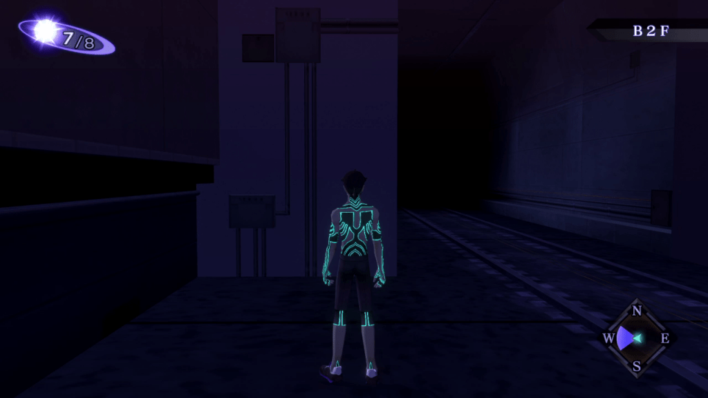 Shin Megami Tensei III: Nocturne HD Remaster - Ikebukuro Tunnel B2F Level Use Lightoma Lightball