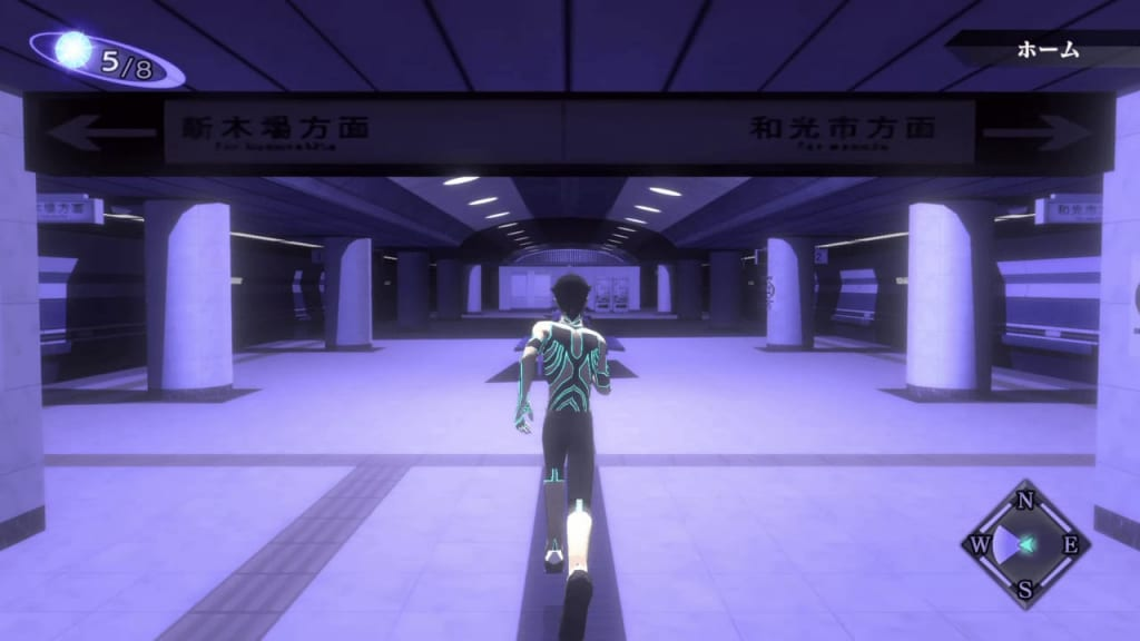 Shin Megami Tensei III: Nocturne HD Remaster - Ikebukuro Tunnel B2F Level